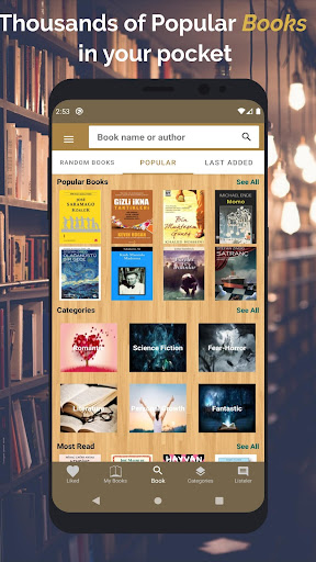 Free E-Book - Read Books screenshot 1