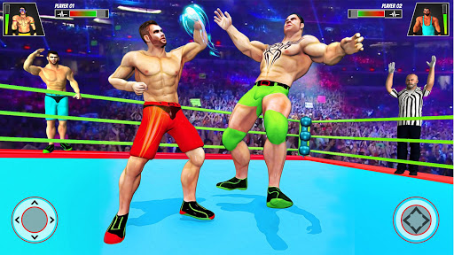 Real Ring Fight Wrestling Championship Games 2020 screenshot 1