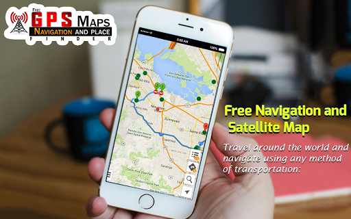 Free GPS Maps screenshot 1