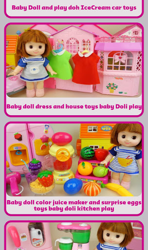 Baby Doll and Toys Video screenshot 6