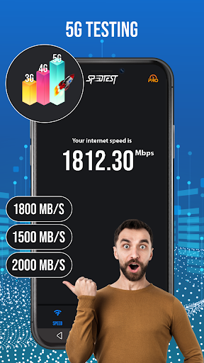 Internet Speed Test for Android screenshot 15