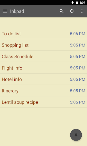 Inkpad Notepad & To do list screenshot 1