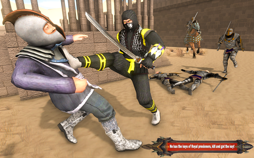 Superhero Ninja Arashi with Samurai Assassin Hero screenshot 8