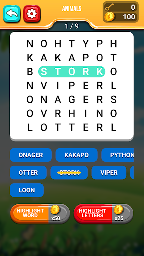 Word Search Puzzle screenshot 1
