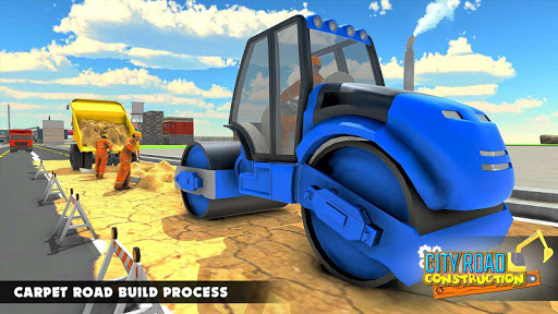 Mega City Road Construction Machine Operator Game screenshot 14