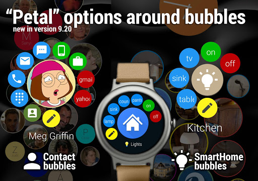 Bubble Cloud Tile Launcher / Watchface (Wear OS) screenshot 10