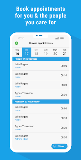 myGP® - Book NHS GP appointments screenshot 4