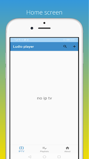 Ludio player for IPTV screenshot 1
