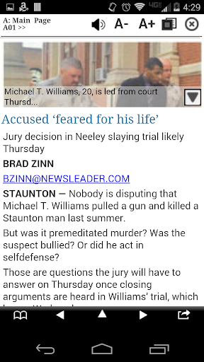 The News Leader Print Edition screenshot 2