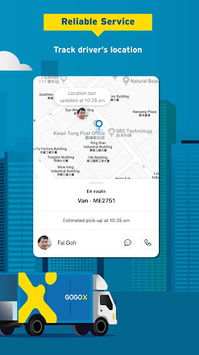 GOGOX (formerly GOGOVAN)-Your Delivery App screenshot 6