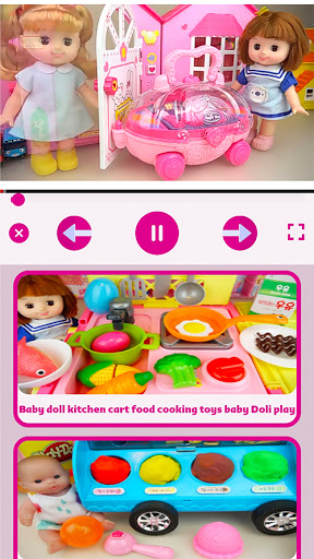 Baby Doll and Toys Video screenshot 11