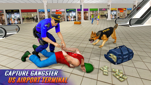 Police Dog Airport Crime Chase screenshot 9