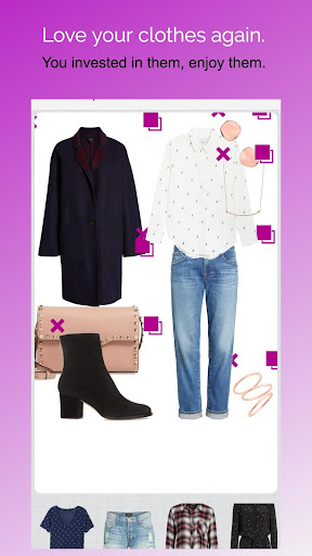 Pureple Outfit Planner captura de tela 4