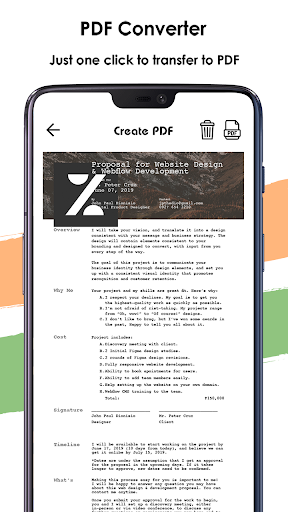 Camera Scanner - Document Scanner & PDF Scanner screenshot 3