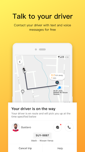 99 - Private Driver and Taxi screenshot 3