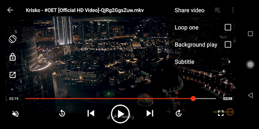Music Player, Video Player for all format screenshot 7