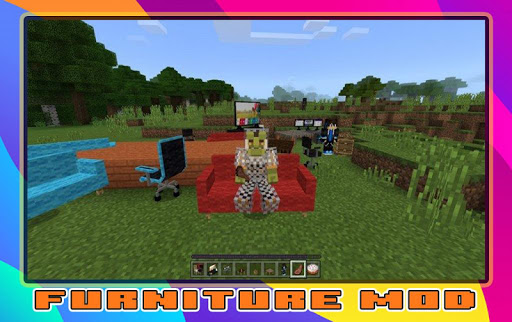 Furniture Mod for minecraft screenshot 1