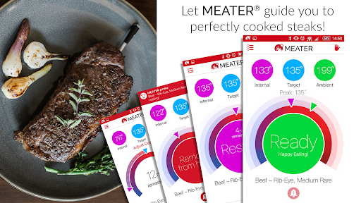MEATER® Smart Meat Thermometer captura de tela 3