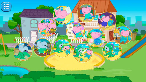 Games about knights for kids screenshot 4