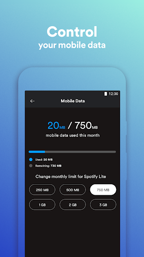 Spotify Lite screenshot 2