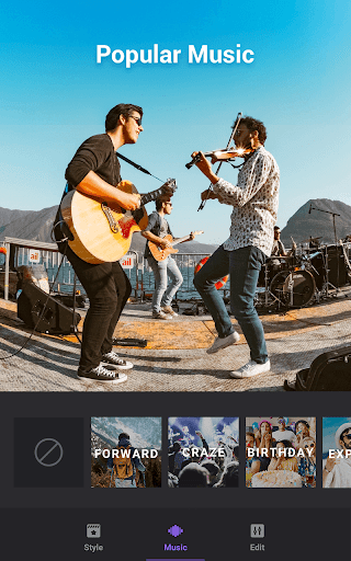 Video Maker of Photos with Music & Video Editor screenshot 5