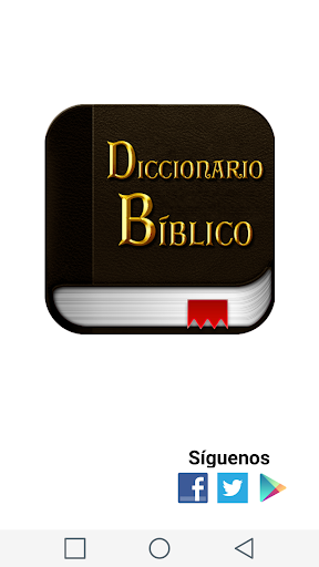 Spanish Bible Dictionary screenshot 1