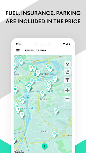 Anytime Carsharing CZ screenshot 4
