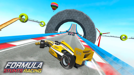 Mega Ramp Car Stunt Race screenshot 14