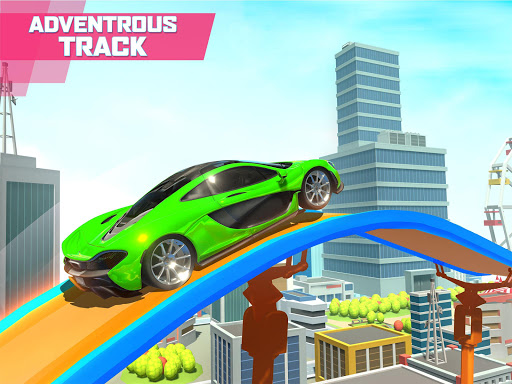 Mega Ramp Car Stunts screenshot 10