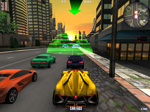 MIDTOWN CRAZY RACE screenshot 2