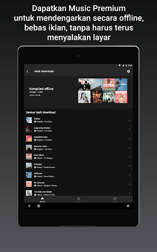 YouTube Music - Streaming Lagu & Video Musik tangkapan layar 10