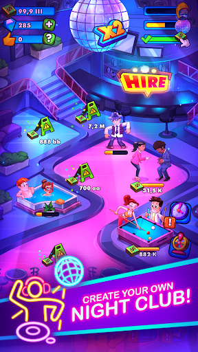 Party Clicker — Idle Nightclub Game screenshot 1