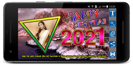 2021 Newyear Photo Frames screenshot 2