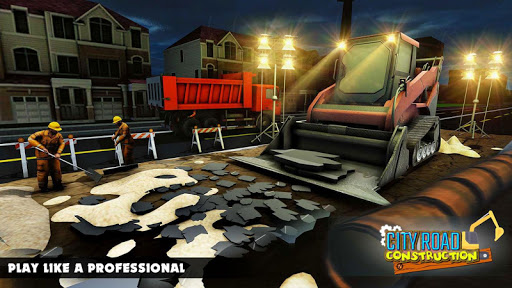 Mega City Road Construction Machine Operator Game screenshot 12