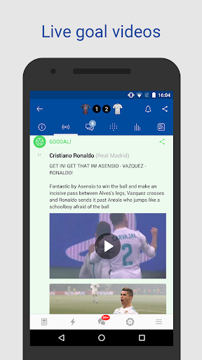 Real Live — Goals & News for Real Madrid Fans screenshot 2