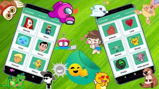 🎬 ANIMATED WAStickerApps (Moving Stickers) screenshot 2