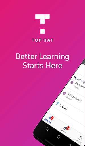 Top Hat - Better Learning screenshot 1