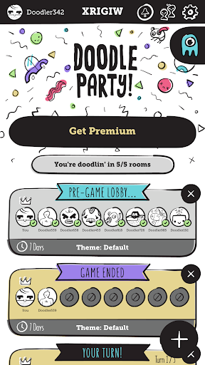 Doodle Party screenshot 1