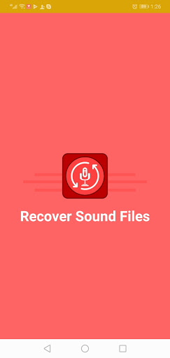 Sound Recovery App screenshot 1