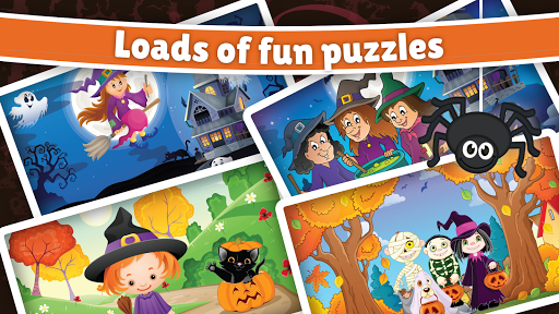 Halloween Puzzle for kids & toddlers 🎃 屏幕截图 4