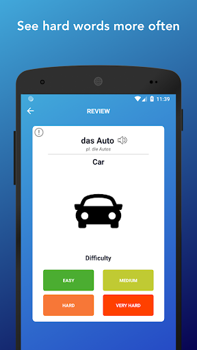 Learn German Words,Verbs,Articles with Flashcards screenshot 7