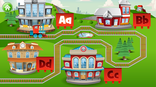 Learn Letter Names and Sounds with ABC Trains screenshot 8