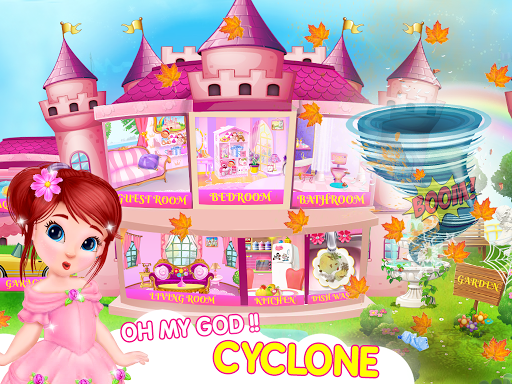 Princess House Cleanup For Girls screenshot 1