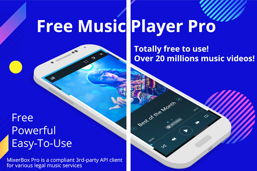 【United States only】Free Music MP3 Player Pro captura de tela 1