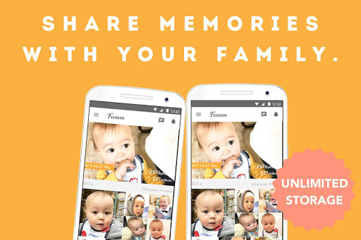 Famm - photo & video storage for baby and kids. screenshot 9