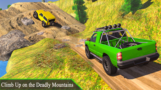 4x4 Mountain Car Driving Games screenshot 1