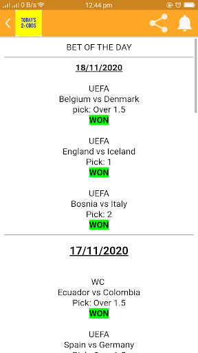 TODAY'S 2+ ODDS screenshot 3
