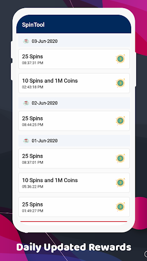 SpinTool : Free Spins and Coins Links Guide screenshot 3