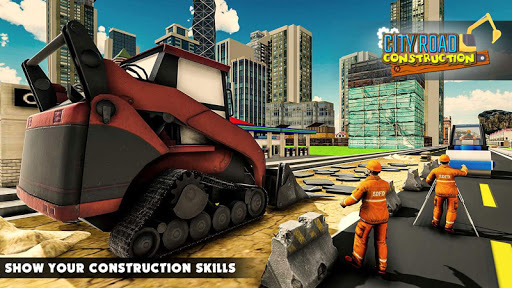 Mega City Road Construction Machine Operator Game screenshot 1