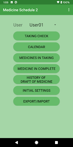 Medicine Schedule 2 [No ADs] screenshot 1